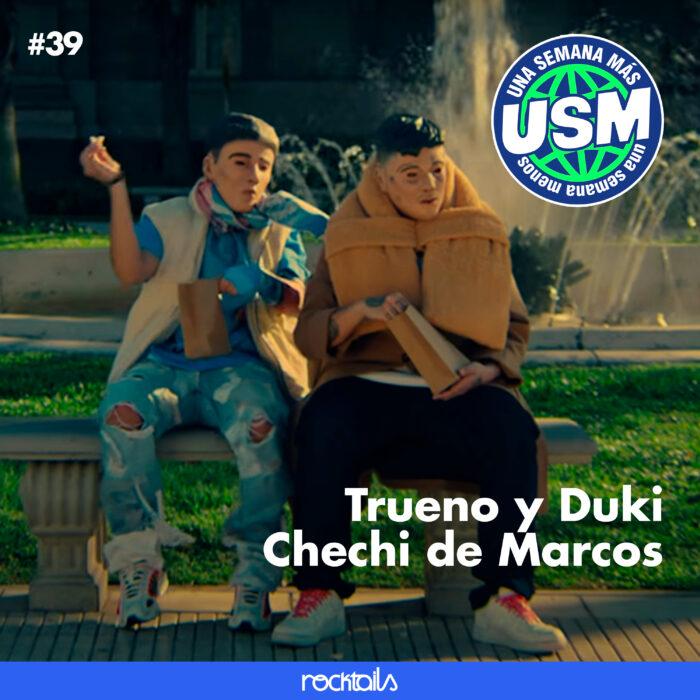 Trueno y Duki todos los secretos del videoclip, Chechi de Marcos
